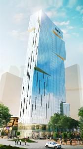 许志国投资集团位于白沙罗柏达纳新总部的图像。预计在2016年中旬竣工。