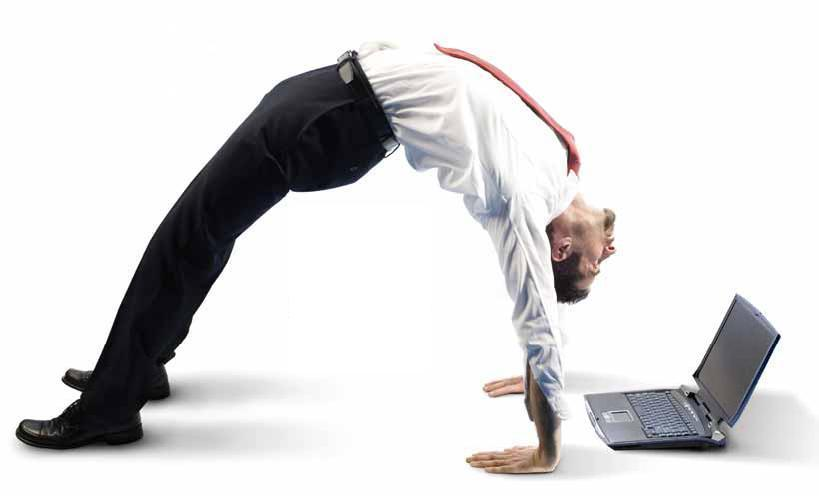 One needs to be flexible and versatile to survive in the corporate world